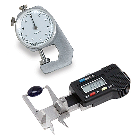 Reentel caliper and gauge
